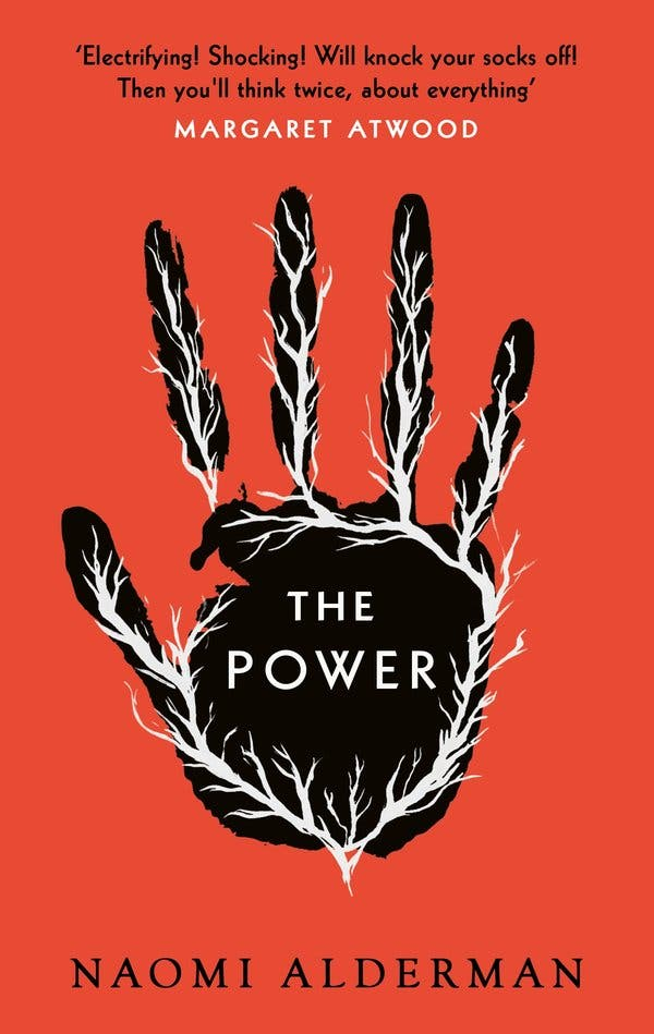 "Naomi Alderman's previous novel, ""The Power,"" imagined a world in which women gain the ability to emit powerful electric shocks."