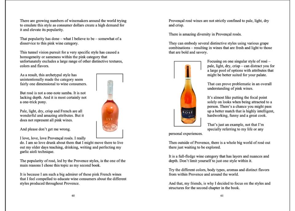 A glimpse into Maneuvering Rosé Wine With Style.