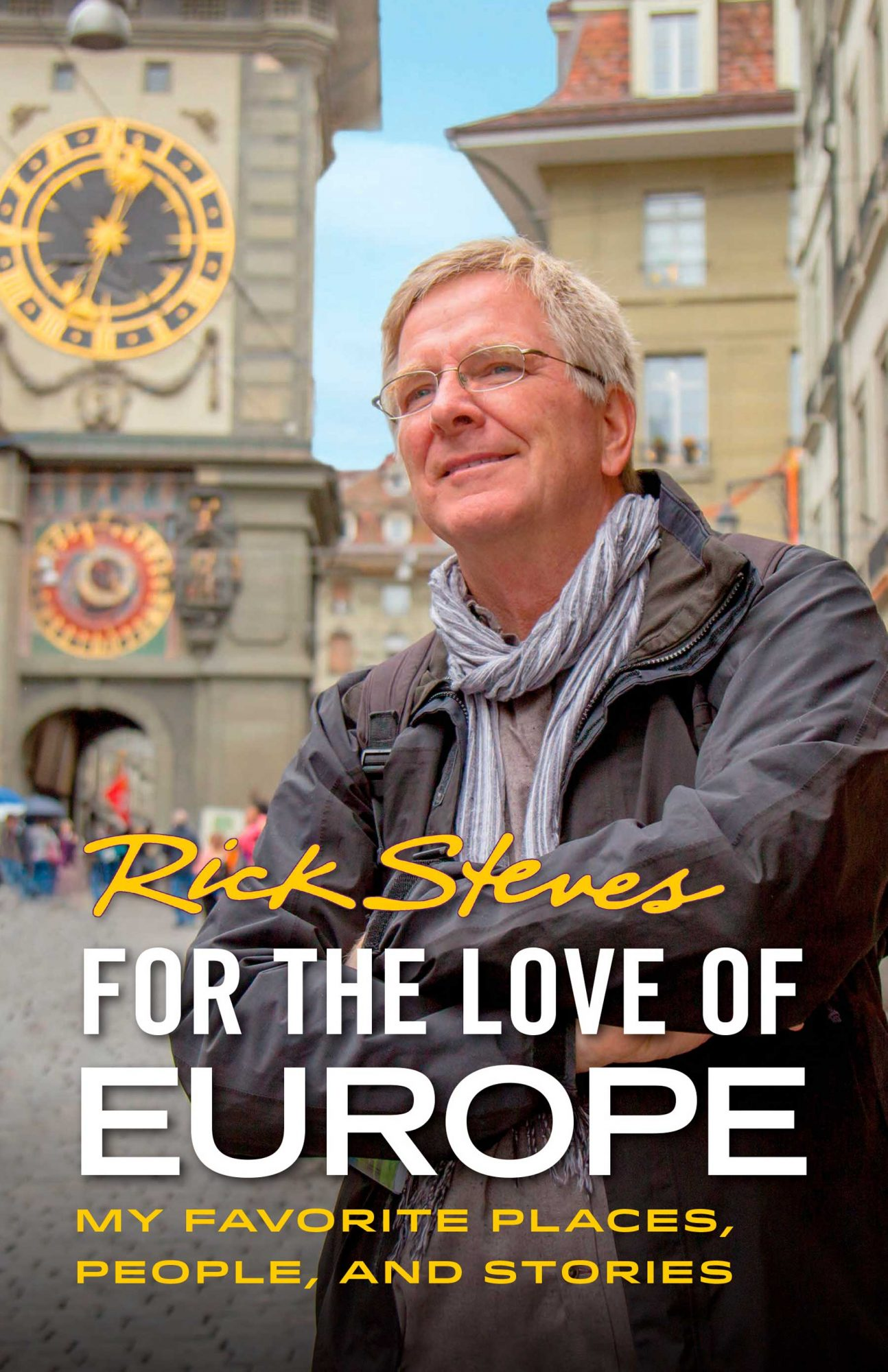 Rick Steves 'For Love of Europe' book cover