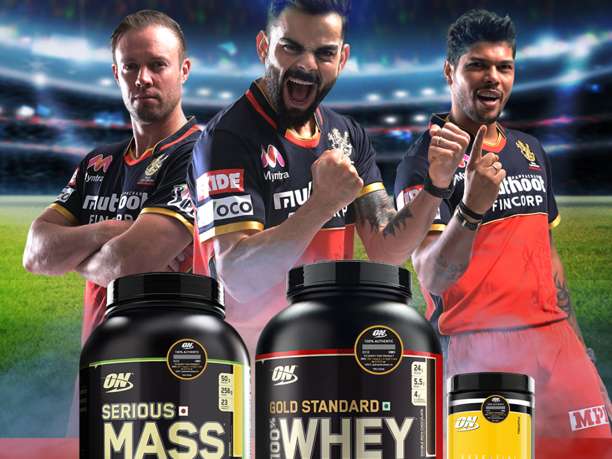 Optimum Nutrition partners with Royal Challengers Bangalore