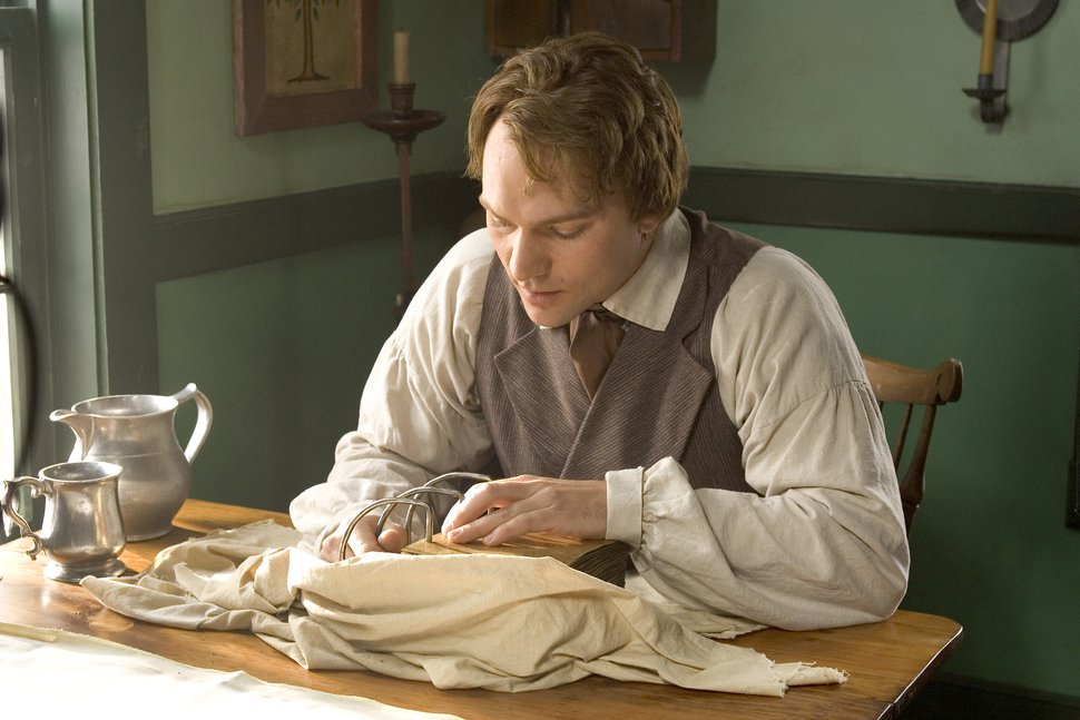 (Photo courtesy of The Church of Jesus Christ of Latter-day Saints) Actor portraying the Prophet Joseph Smith in the church's 2005 movie,